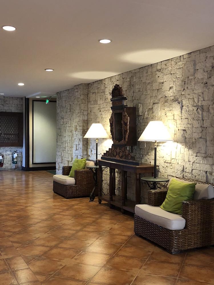 Inside Montebello Villa Hotel