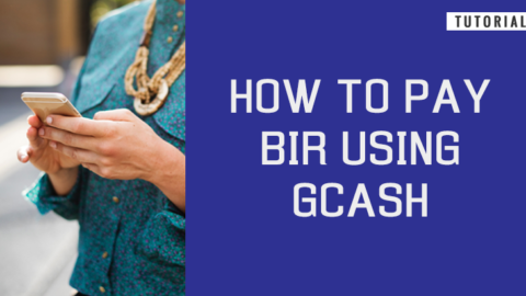 How to pay BIR using GCash - a step by step guide. | www.momonduty.com