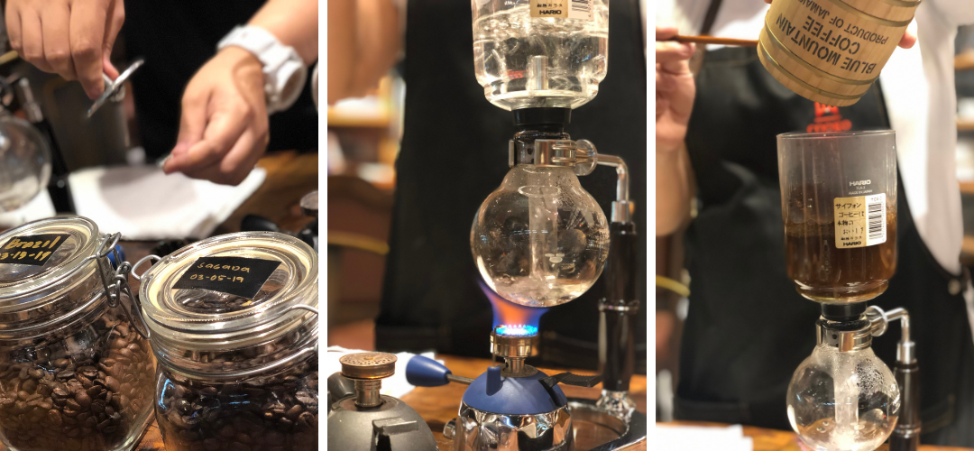 I learned how to brew coffee using the syphon method | www.momonduty.com