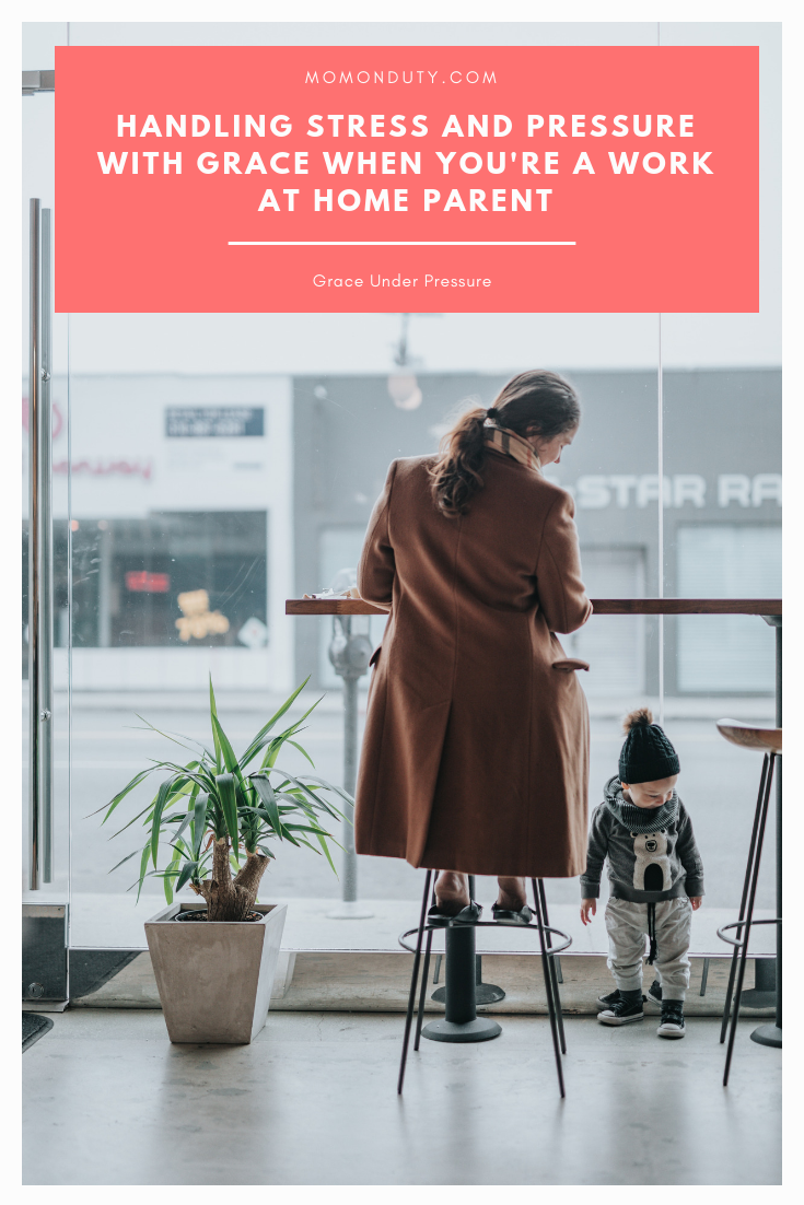 Work At Home Stress Management for Parents