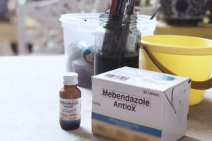Use Antiox for deworming!