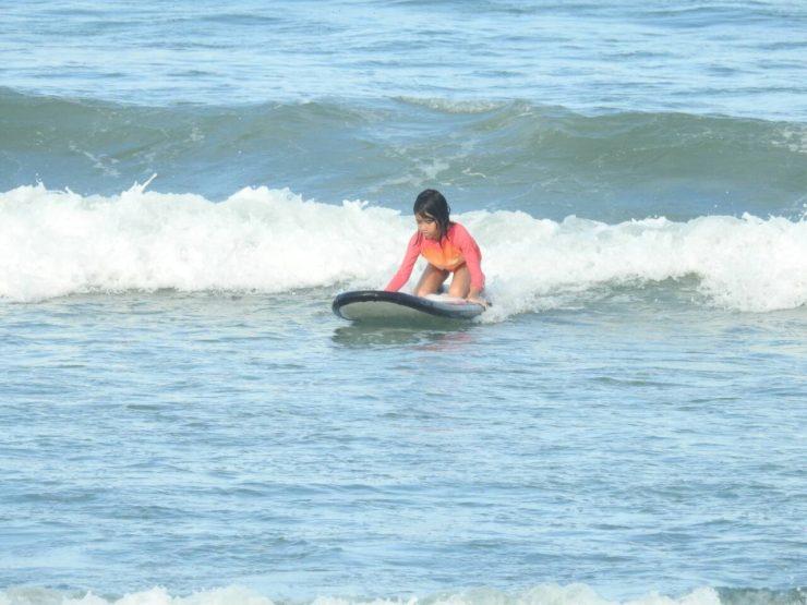 Baler Aurora Surfing