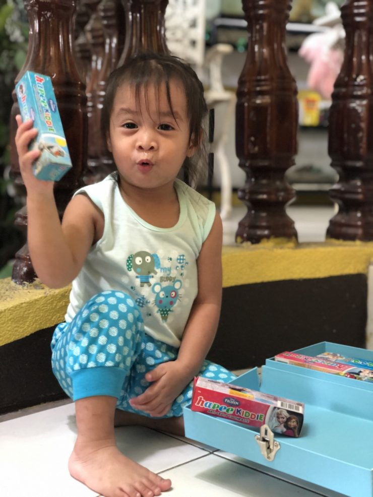 Hapee is a tooth paste made for kids