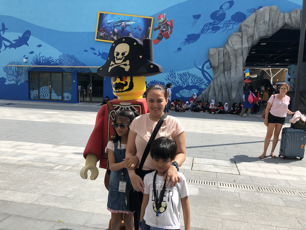 Legoland Malaysia is perfect for families traveling with little kids
