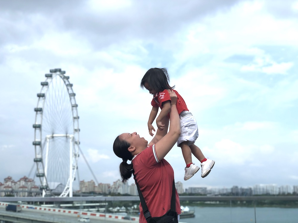 The walk from Merlion Park to Marina Bay Sands is worth it. This is your chance to take lots of photos!