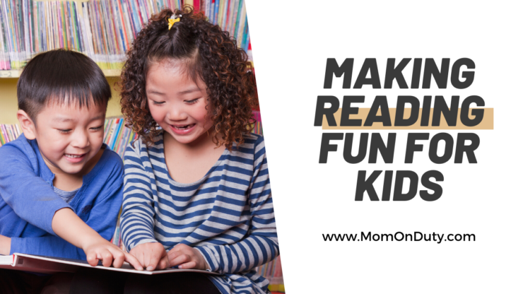 Coffee With Kim: Make Reading Fun For Kids - Mom On Duty